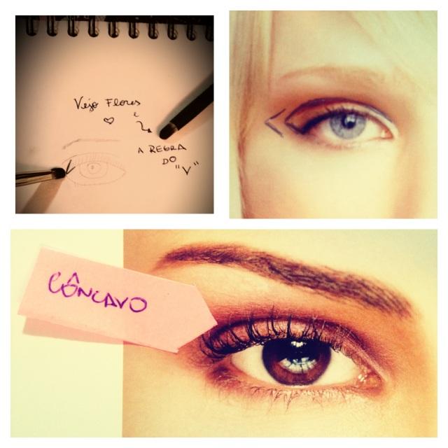 Z V do olhos