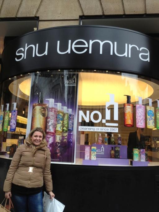 Lista de beauté - curvex Shu uemura! - Check!